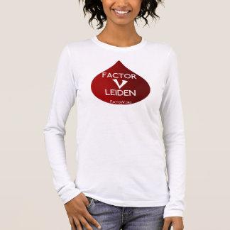 Factor V de Voorlichting van Leiden T Shirts