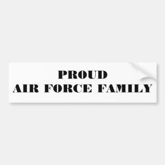 Familie van de Luchtmacht van de Sticker van de bu Bumpersticker