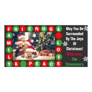 Familie, Vrienden, Vrede & Liefde Kaart