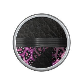 Fancy Roze Jachtluipaard Bluetooth Speaker