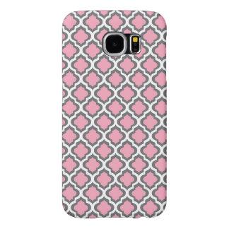 Fancy Roze Patroon Samsung Galaxy S6 Hoesje
