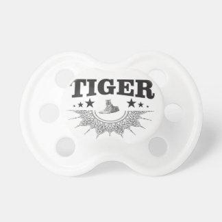 fancy tijgerlogo fopspeen