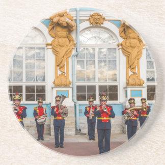 Fanfarekorps van Tsarskoye Selo van het Paleis van Zandsteen Onderzetter