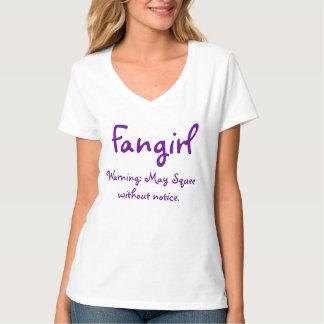 Fangirl, die waarschuwen: Mei Squee zonder bericht T Shirt