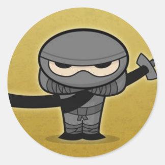 Farkin Ninja Ronde Sticker