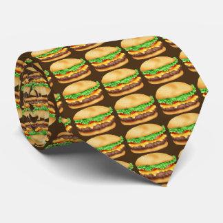 Fastfood het stropdas van het het patroonvoedsel