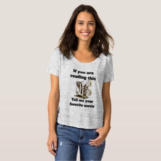 Favoriete film t shirt