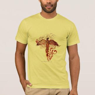 Fawkes Uitgespreide Vleugels T Shirt