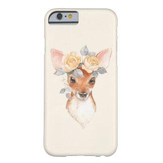 Fawn en gele rozen barely there iPhone 6 hoesje