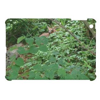 FAWN in de Groene Bladeren van het Hart Hoesjes Voor iPad Mini