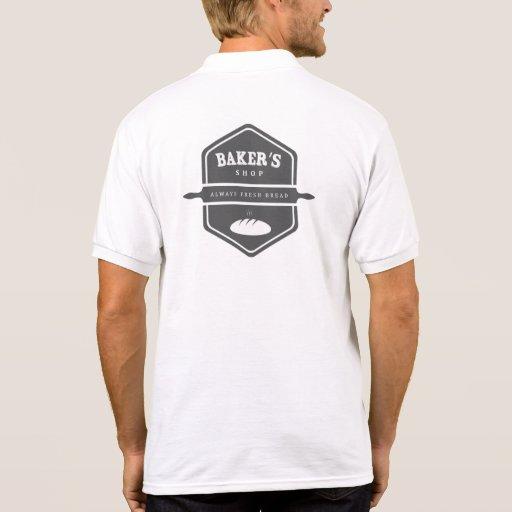 Fb van het Ontwerp van de bakkerij 11 Polo T-shirt