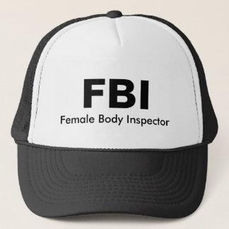 FBI, de Vrouwelijke Inspecteur van het Lichaam Trucker Pet