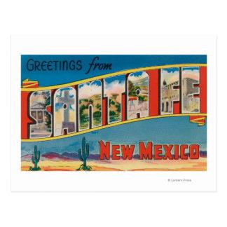 Fe van de kerstman, New Mexico - Grote Scènes 2 Briefkaart