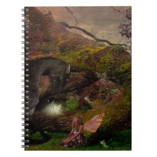 fee en haar dagboek van de draakdroom ringband notitieboek