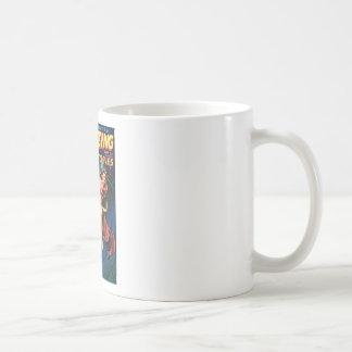Fee in een Spin Weg Koffiemok