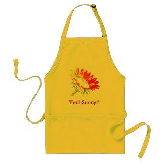 """Feel Sunny"" - Designer-Schürze Flower Power!"
