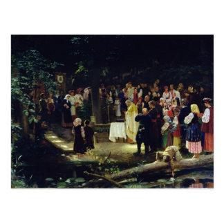 Feest van de Transfiguratie van Onze Lord Briefkaart