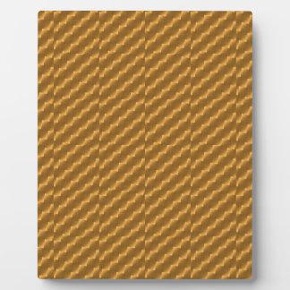 Feestelijk, gouden patroon plaat