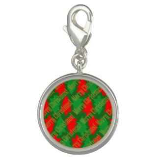 Feestelijke Rode Gouden Groene Kerstboom Foto Charm