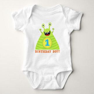 Feestvarken kinder t-shirt van 1 jaar de grappige