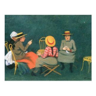 Felix Vallotton - de vrouwen Briefkaart
