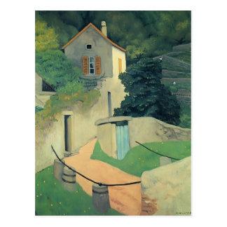 Felix Vallotton - een Landschap Vallon Briefkaart