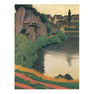 Felix Vallotton - Landschap Semur Briefkaart