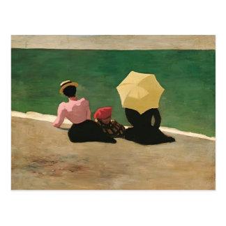 Felix Vallotton - op het Strand Briefkaart