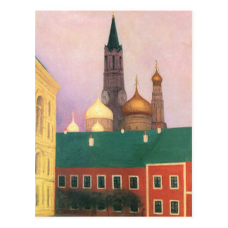 Felix Vallotton - Uitzicht van het Kremlin in Briefkaart