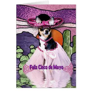 FELIZ CINCO DE MAYO - Chihuahua Briefkaarten 0