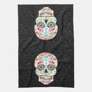 Feliz Muertos - de Feestelijke Handdoek van de Keu