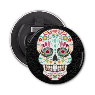 Feliz Muertos - de Feestelijke Schedel van de Button Flesopener