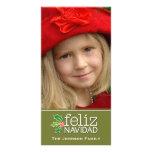 Feliz Navidad: Één Grote Foto Gepersonaliseerde Fotokaarten