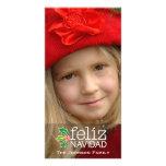 Feliz Navidad: Één Grote Foto Fotokaart Sjabloon