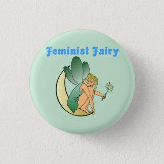 Feministische Fee (Versie 2) Ronde Button 3,2 Cm