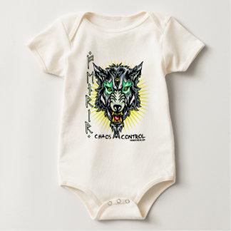 Fenrir bovengenoemd om de zoon van Loki te zijn Baby Shirt