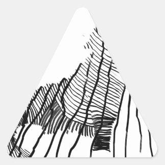 Fenrir Driehoekige Stickers