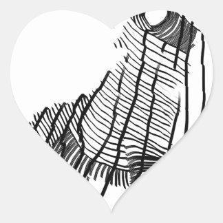 Fenrir Hartvormige Stickers