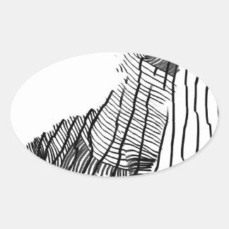 Fenrir Ovale Stickers