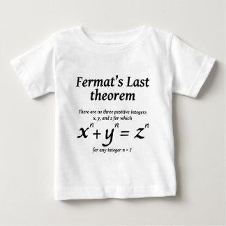 Fermat duurt Stelling Baby T Shirts