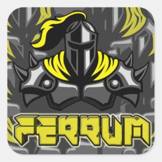 Ferrum eSports het Pak van de Sticker van 3 Duim