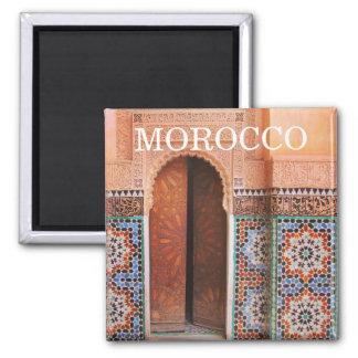 fes deur Marokko Magneet