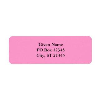 FF99CC roze Etiket