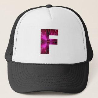 FF FFF van het alfabet F:  Het Thema van de Trucker Pet