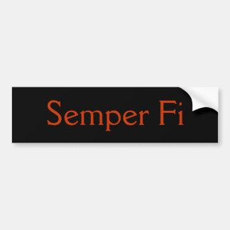 FI van Semper Bumpersticker
