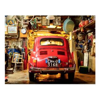 Fiat 500, Cinquecento in Italië Briefkaart