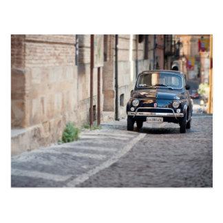Fiat 500, Cinquecento in Lanciano, Italië Briefkaart