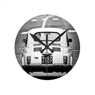 Fiat 500, Cinquecento, in Rome, Klok