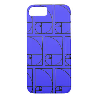 fibonacci spiraal iPhone 8/7 hoesje