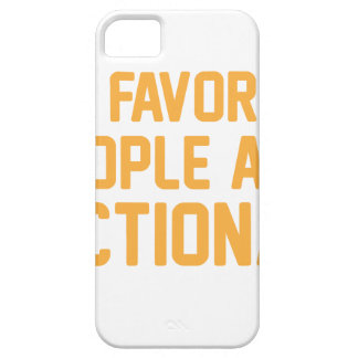 Fictieve Mensen Barely There iPhone 5 Hoesje